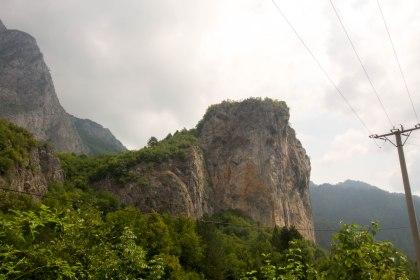 Descent through the national Park