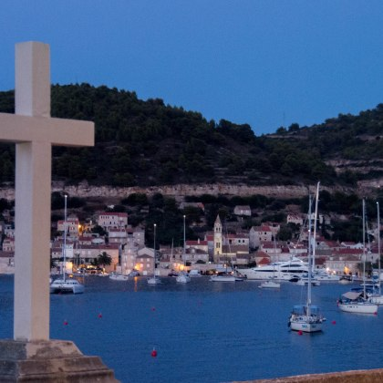 Vis in the evening