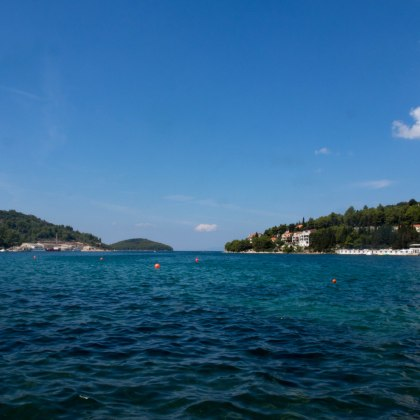 Bay at Korčula