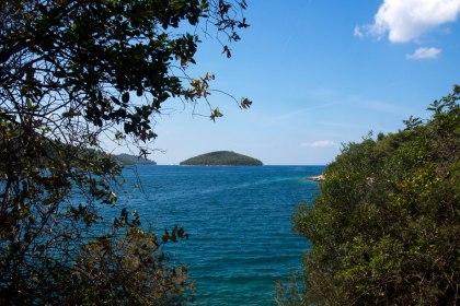 Island in the bay of Korčula