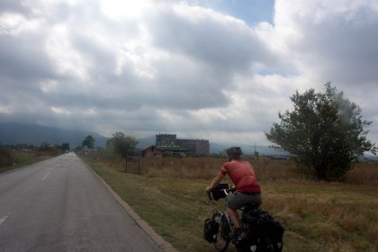 Flat roads leading from sofia to the mountains