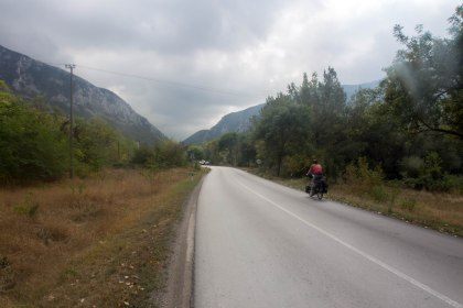 Nearly at the mountains