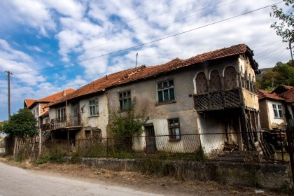 Most rural houses looked similar to this