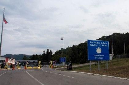 Leaving Serbia