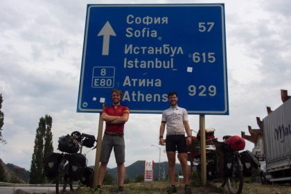 First sign for Istanbul