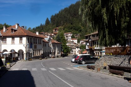 Not only were the mountain villages picturesque but most of them had free open wifi