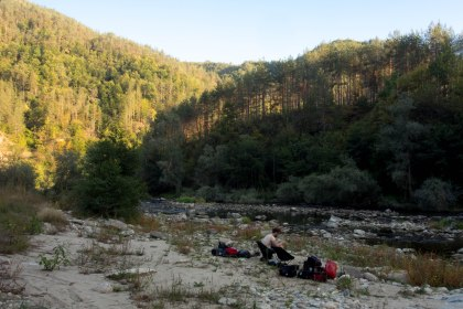 Another great camp spot in the Bulgarian mountains