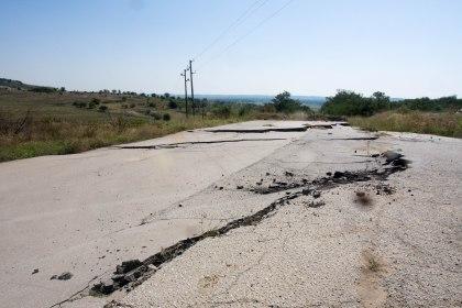 Not bulgaria's best roads