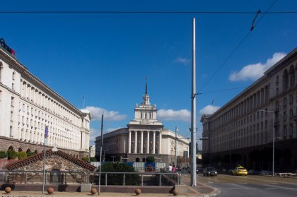 Central Sofia had some really impressive building that wouldn't be out of place in any other european capital