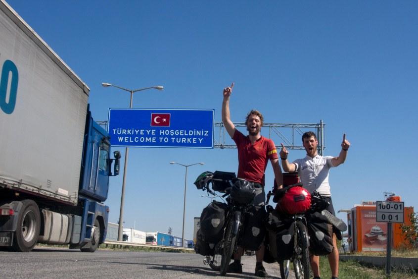 Felt pretty good making it to Turkey.