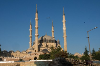 Edirne was the old capital of the ottoman empire before Istanbul.