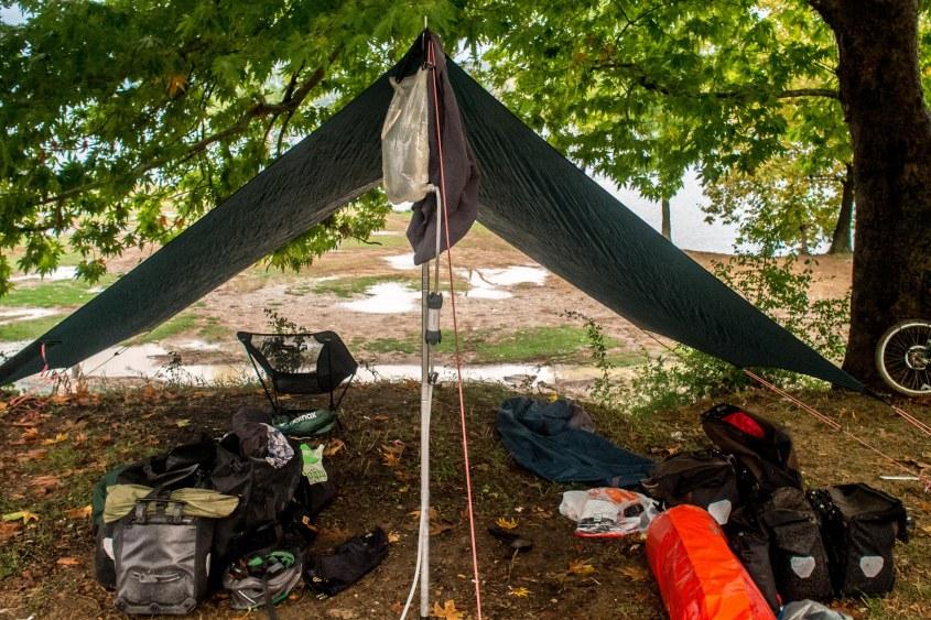 Home sweet tarp