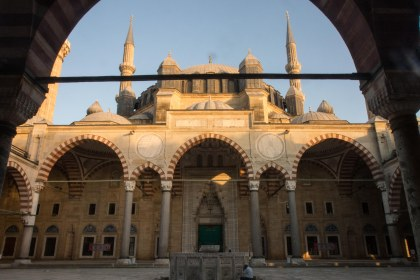 We also had the whole thing to ourselves, quite the opposite to the jammed mosques in Istanbul