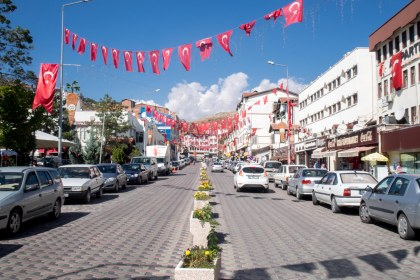 No not a holiday or festival just a typical nationalistic turkish town