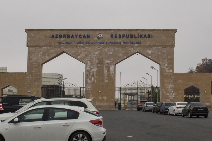 After denying we had ever been to Armenia about 20 times we were let through the border.