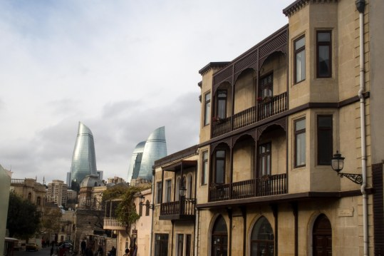 Old Baku and new