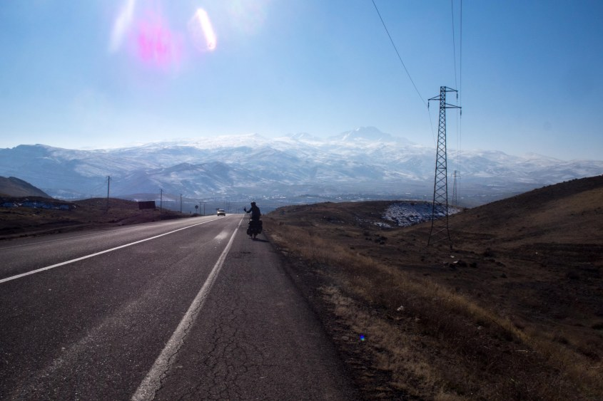 """Freewheeling downhill with a view like that. Definitely one of those moments you stop and think """" and I cycled here?"""""""