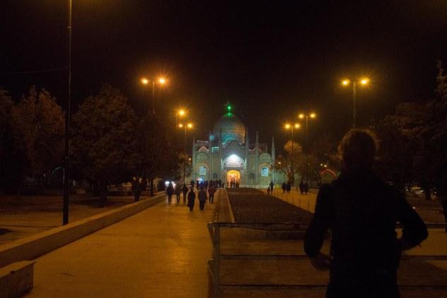 Nothing like visiting a holy islamic shrine on christmas day