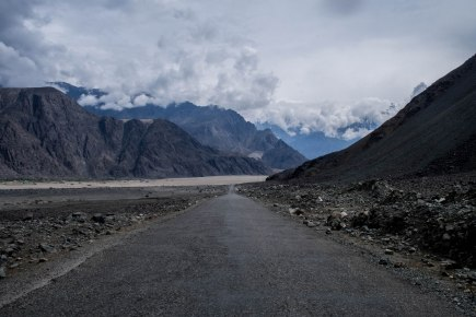 After cycling through lush paddy fields, rolling foothills, the steep Indus valley arrive at the vast barren plateau was a lot to take in.