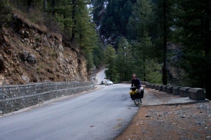 The roads around Muree were the steepest of the trip so far. We often came across vomit left behind by pakistanis more used to the flat roads of Punjab