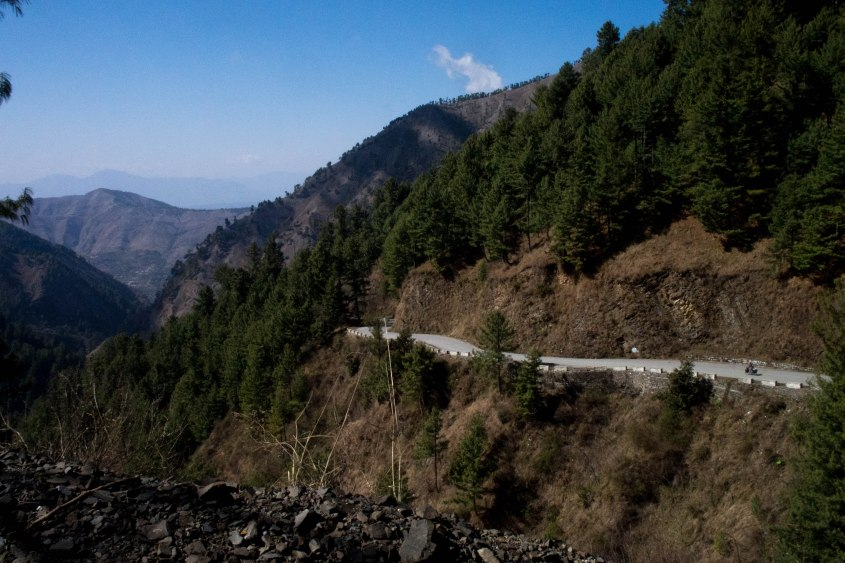 The descent into Abbottabad was the longest of the trip so far and absolutely incredible. Perfect roads and great views the whole way