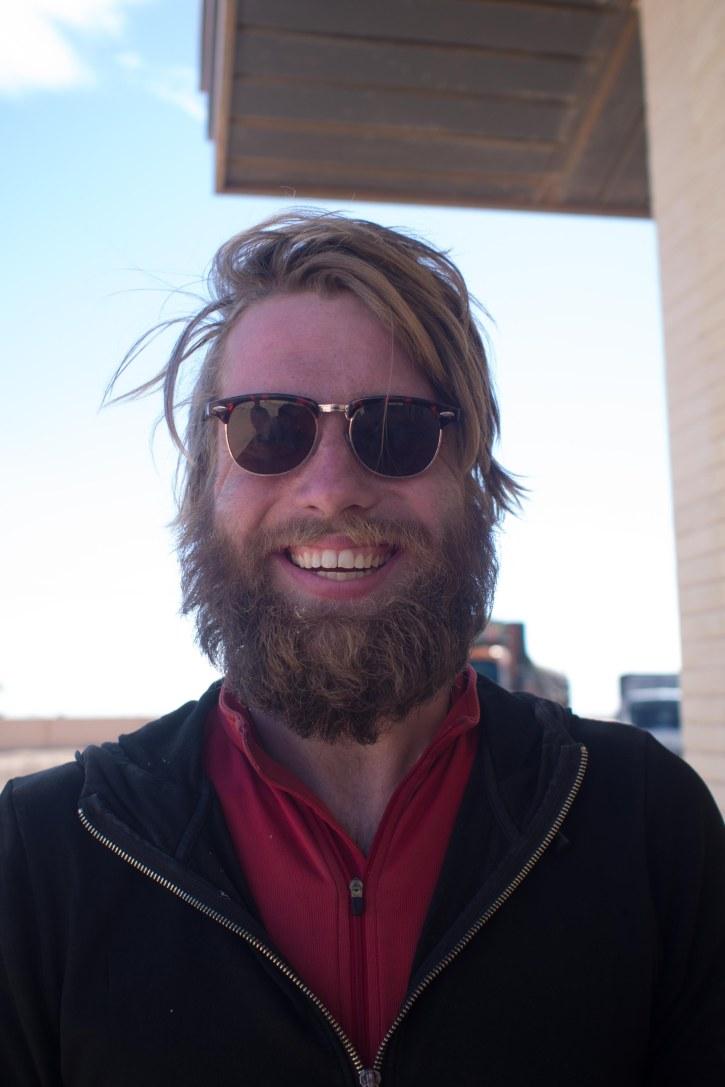 Last pic of Hugo and his Daesh beard
