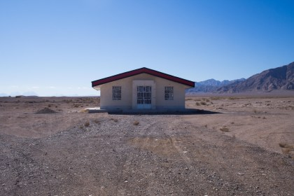 We found this house in the middle of nowhere, thought there might be bathroom we could use