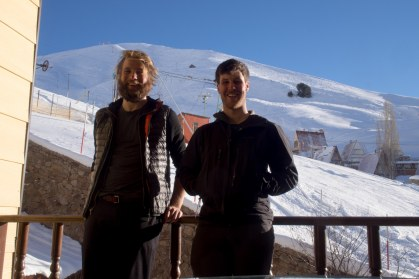 Ski in ski out hotel north of Tehran. Apparently the Shah used stay here