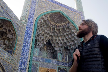 Shah mosque in Esfahan