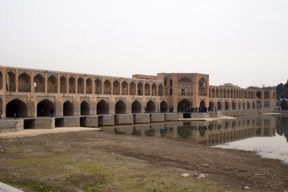 A bridge in Esfahan