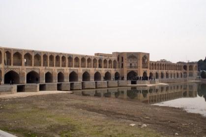 A bridge in Esfahan