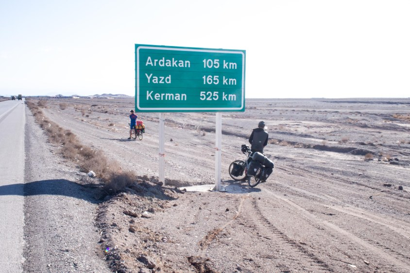 Kerman is our last stop on the bikes in Iran