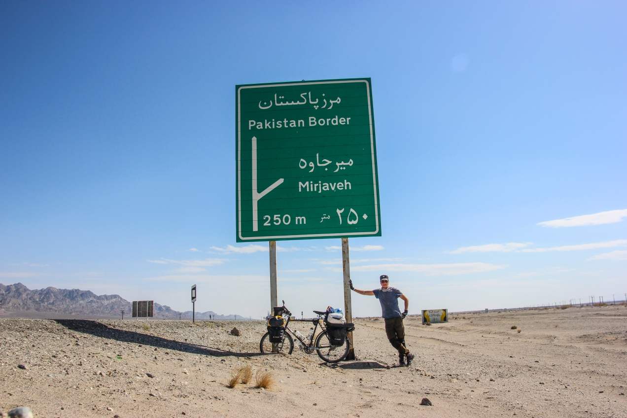 A few kilometers from the tiny desert border crossing between Iran and Pakistan