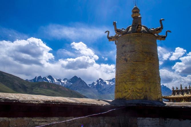 Monastery roof