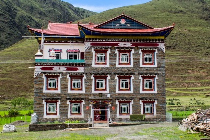 The minorities across China are very popular tourist attractions. So after destroying all the clutures the communist party give grants to to minorities to rebuild their traditional houses