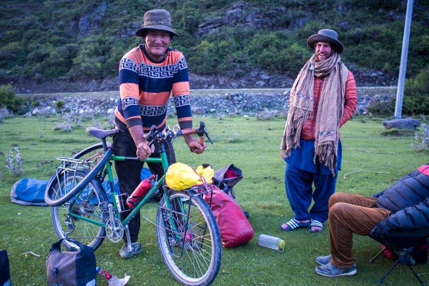 Giant tibetan dwarfing my bike